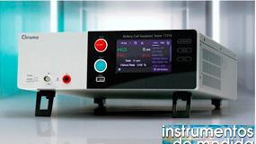 Foto de Comprobador de seguridad eléctrica para baterías de Chroma