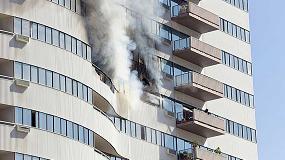 Foto de Tecnalia, primer laboratorio español acreditado por ENAC para ensayos a gran escala de comportamiento frente a incendio en fachadas
