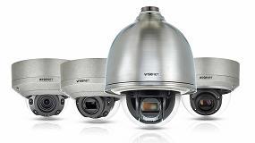 Foto de Hanwha Techwin presenta las cámaras Wisenet X de acero inoxidable