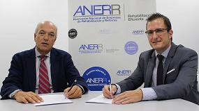 Foto de Anerr firma un acuerdo con Forlopd para asesorar a las empresas en materia de protección de datos