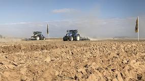 Foto de New Holland viste de azul Castilla y León