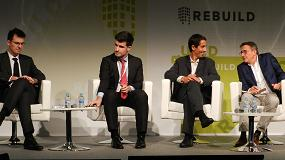 Foto de El futuro de la construcción, a debate en Rebuild 2018