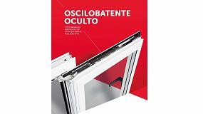 Foto de Herraje oscilobatiente oculto minimalista