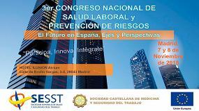 Foto de Madrid acoge el 3er Congreso Nacional de Salud Laboral y Prevención de Riesgos