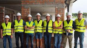 Foto de Jornada presencial del Curso de Formación para Formadores en instalación de carpinterías, en Badalona