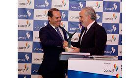 Foto de Jordi Mestre, director general de Baxi, recibe el premio 'Manuel Laguna' de Conaif