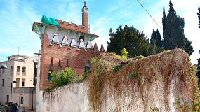 Foto de Mapei interviene en las obras de rehabilitación de la Casa Puig i Cadafach, en Argentona
