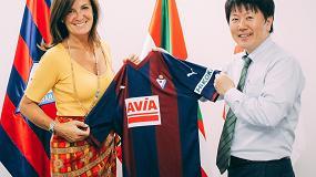 Foto de Hikoki, nuevo patrocinador oficial del equipo de Primera División S.D. Eibar