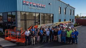 Foto de JLG celebra la fabricación de su brazo autopropulsado número 250.000 en Norteamérica