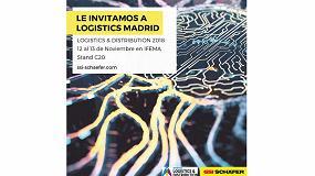 Foto de SSI Schaefer centrará su participación de Madrid Logistics 2018 en la inteligencia artificial