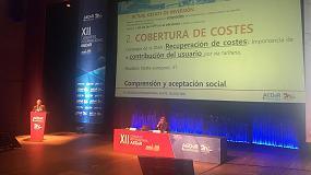 Foto de Fernando Morcillo apunta un déficit de 60 euros per cápita/año en la inversión necesaria para el mantenimiento y renovación de las infraestructuras del agua