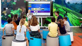 Foto de MicrosoftEduLab muestra el futuro de las aulas
