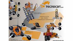 Foto de Tecnocat presenta en Veteco Glass su nueva trayectoria