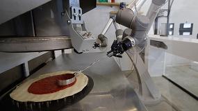 Foto de Pazzi: el robot pizzero