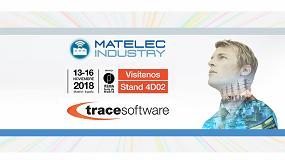 Foto de Trace Software International presenta sus soluciones software en Matelec Industry