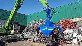 Foto de Arden Equipment entrega dos pulpos GA452 a Metales Vela en Getafe