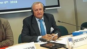 Foto de Ángel Villafranca, nuevo presidente del Grupo de Diálogo Civil de Vino de la Comisión Europea
