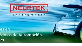 Foto de Neurtek organiza en Madrid y Barcelona la jornada técnica: 'Ensayos Ambientales en Automoción'