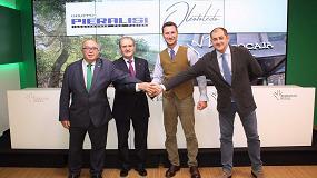 Foto de El Grupo Cooperativo Oleotoledo y Pieralisi firman un acuerdo por el mantenimiento de la maquinaria en las almazaras