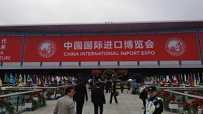 Foto de Interporc participa en la primera Exposición Internacional de Importación de China