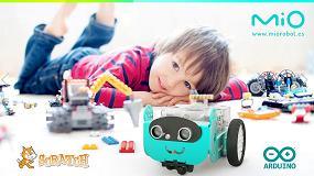 Foto de Mio, un nuevo robot educativo STEAM