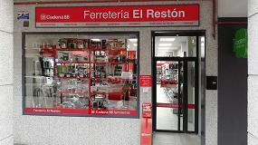 Foto de Ferretería Restón, asociada a Cadena 88, se actualiza