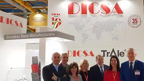 Foto de Dicsa celebra desde Italia su internacionalización
