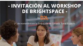 Foto de Talleres Brightspace by D2L: Innova con modelos pedagógicos online