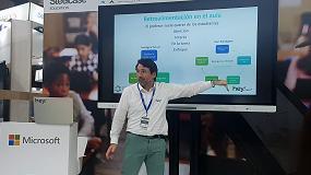 Foto de Hey!, innovación española en la Feria de Educación SIMO 2018