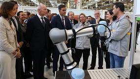 Foto de El presidente del Gobierno y Universal Robots, en la nueva fábrica de Renault en Valladolid