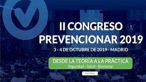Foto de Se convoca el II Congreso Prevencionar 2019
