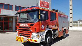 Foto de Los bomberos de Bilbao renuevan su flota con la incorporación de una autobomba sobre chasis Scania