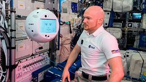 Foto de El asistente de astronautas CIMON supera con éxito su primera misión en el espacio