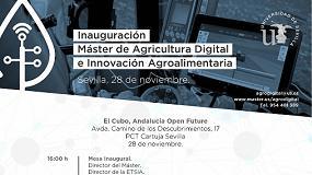 Foto de La Universidad de Sevilla inaugura el Máster de Agricultura Digital e Innovación Agroalimentaria