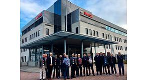 Foto de Clientes españoles de Bosch Termotecnia visitan su fábrica de calderas murales de Holanda