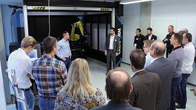Foto de Creaform inaugura su centro europeo de demostración de control de calidad automatizado en Alemania con Cube-R