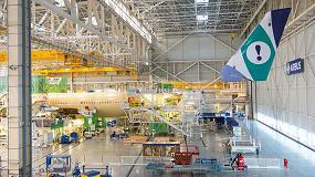 Foto de El nuevo avión A350-900 de Evelop empieza a tomar forma