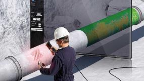Foto de Pipecheck de Creaform evalúa la corrosión de superficie para todos los tramos de la tubería