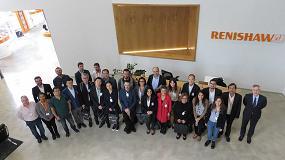 Foto de Renishaw acoge una delegación de visitantes internacionales acompañados por Acció