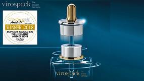 Foto de Virospack gana el premio en Skincare Packaging Technology and Design Category