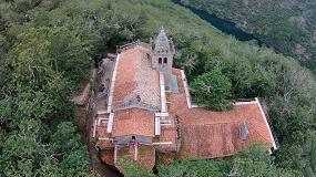 Foto de El Sistema Onduline Bajo Teja DRS protege el Monasterio de Santa Cristina en Ribas de Sil, Ourense