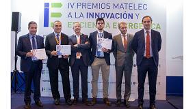 Foto de Afme y Matelec entregan los IV Premios a la Innovación y Eficiencia Energética
