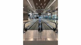 Foto de Las 661 unidades de Schindler del nuevo aeropuerto de Estambul, dispuestas para dar servicio a millones de pasajeros