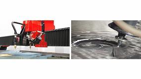 Foto de TCI Cutting combina la versatilidad de una máquina waterjet con la velocidad del plasma HD