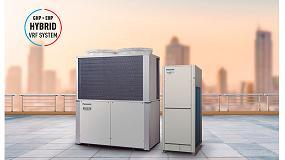Foto de Panasonic combina gas y electricidad para crear un equipo híbrido VRF de alta eficiencia