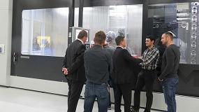 Foto de Soraluce muestra su apuesta por la inteligencia en la fabricación de máquinas