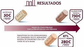 Foto de La percepción de los tapones PlantCorc de Vinventions para vinos Premium es muy positiva