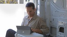 Foto de Surface Go, el mejor dispositivo para impulsar a los profesionales del sector logístico