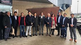 Foto de Japón visita las instalaciones españolas de tiburón