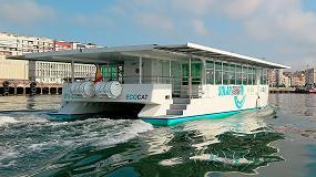 Foto de Ecocat, el primer catamarán electrosolar en España, reconocido internacionalmente